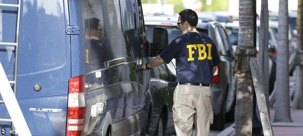 The FBI raid the offices of Concacaf