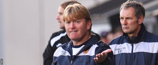 Stuart McCall in charge at Motherwell