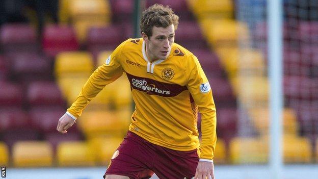 Motherwell defender Josh Law