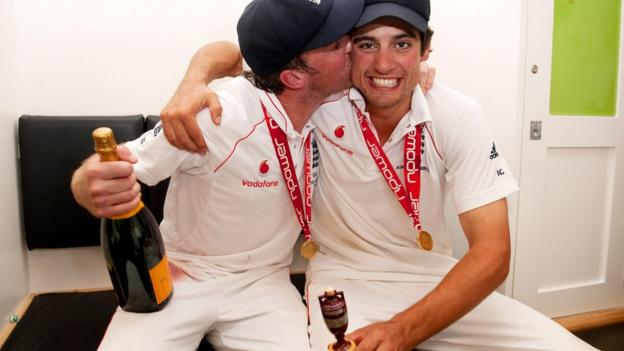 Graeme Swann and Alastair Cook