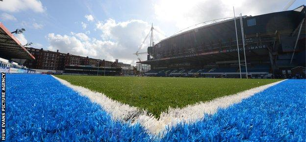 Cardiff Arms Park pitch