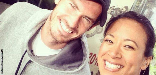 Anne Keothavong and Andy Murray