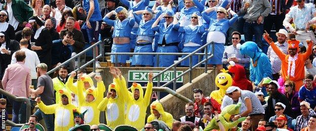 Fans at Headingley