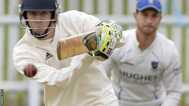 Glen Halliday in action for Lisburn