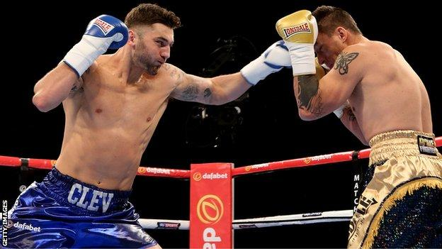 Nathan Cleverly versus Tomas Man