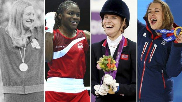 Women from across sport share their inspirational heroines with BBC Sport