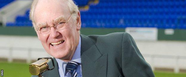 Commentator Bill Johnstone