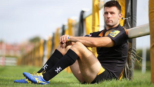 Wasps vice-captain Chris Bell
