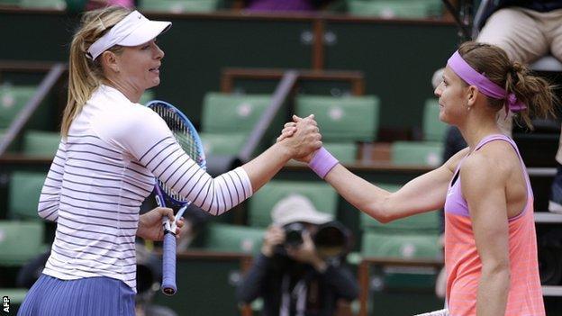 Sharapova and Safarova