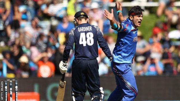 Scotland lost to Afghanistan at the World Cup
