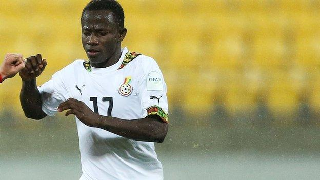 Ghana Under-20 player Yaw Yeboah