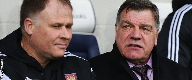 Neil McDonald and Sam Allardyce