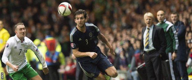 Scotland face the Republic of Ireland on June 12, who they beat 1-0 at Celtic Park in November