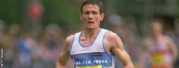 Steve Jones won the 1985 London Marathon