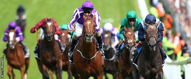 Joseph O'Brien on Australia at the 2014 Epsom Derby