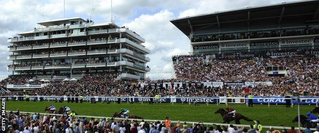 Epsom race course