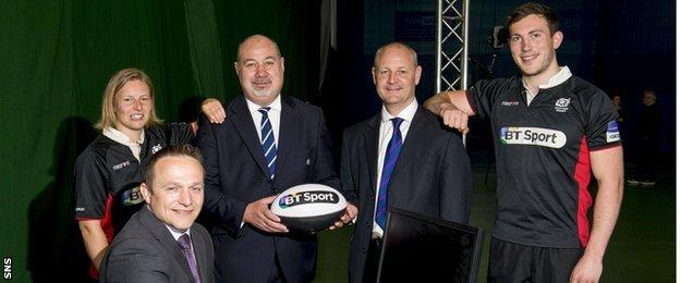 Mark Dodson helps to open the Edinburgh Academy