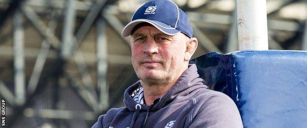 Scotland head coach Vern Cotter