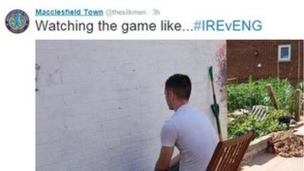 Macclesfield Town tweet