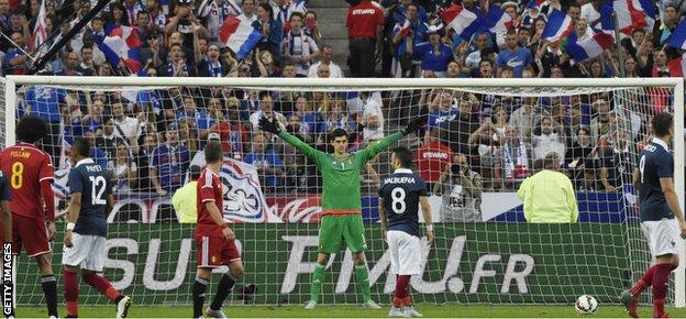 Belgium goalkeeper Thibaut Courtois was been in fine form for Chelsea this season