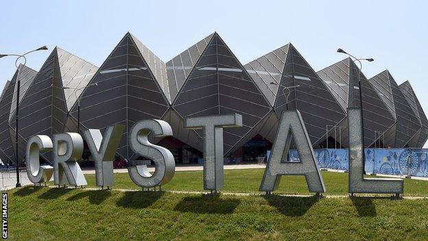 Crystal Hall in Baku