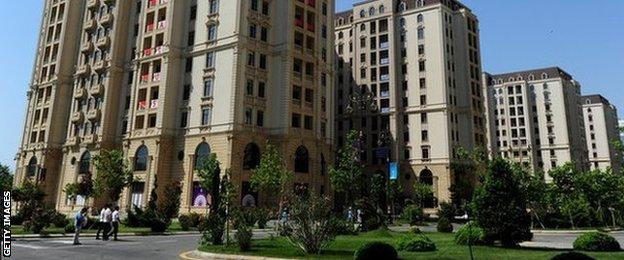 Athletes' village at European Games in Baku