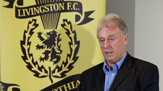 Gordon Ford holds a 40% shareholding of Livingston Football Club