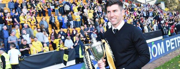 Livi escaped relegation and won the Petrofac Training cup under Mark Burchill