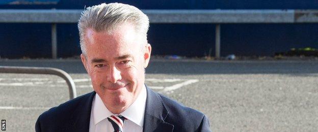 Rangers director Paul Murray
