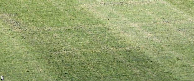 Swastika on pitch