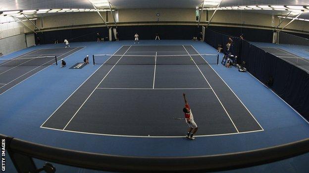London's National Tennis Centre