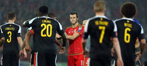 Gareth Bale scored his 17th goal for Wales in the win over Belgium