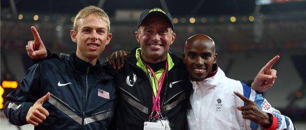 Salazar, Rupp and Farah