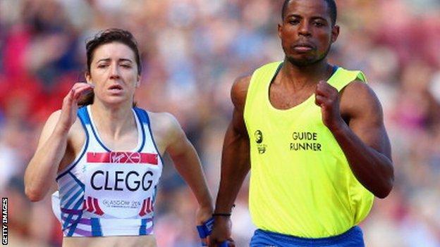 Britain's Libby Clegg