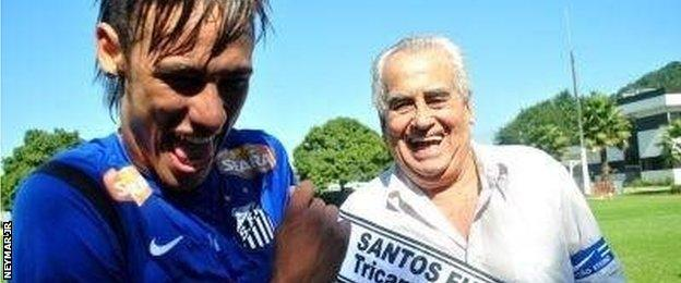 Neymar Jr and Zito