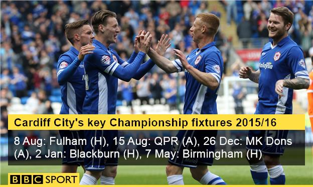 Cardiff City key fixtures