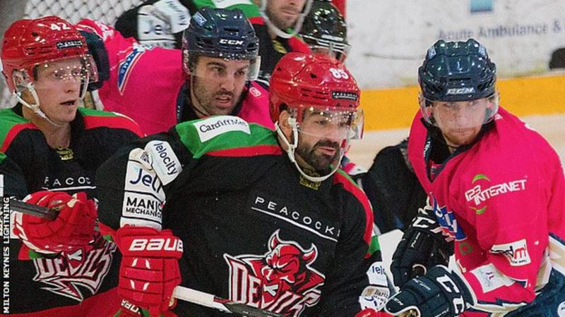 UK: Challenge Cup - MK Lightning 4-5 Cardiff Devils