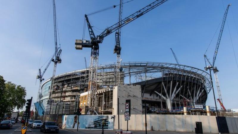新球场开放时间成疑,热刺赛季初或继续租用温布利