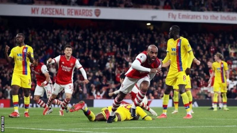 Lacazette's late Arsenal equalizer 'tough' to take for Palace