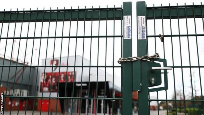 Coronavirus: English football suspension extended until at least 30 April
