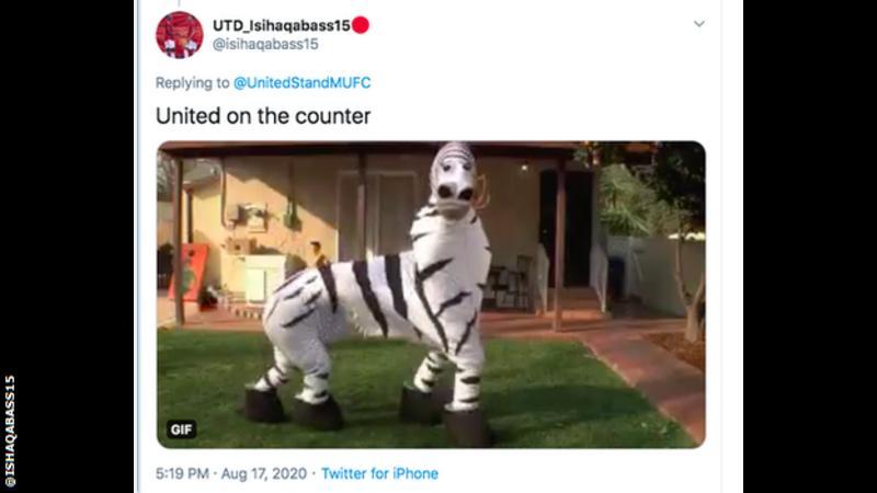 Manchester United To Wear Zebra Print Third Kit Sports Love Me