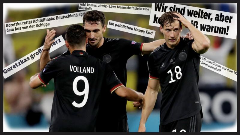 England v Germany: 'Wembley suits us' - German press await ...