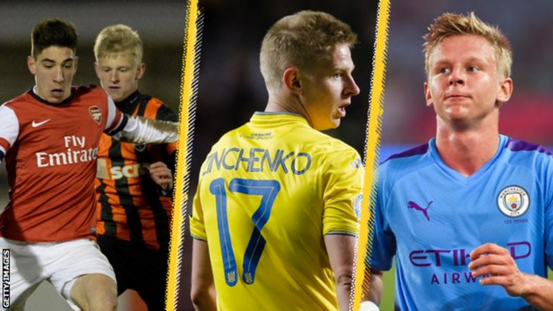 Euro 2020: The meteoric rise of Manchester City defender and Ukraine captain Oleksandr Zinchenko