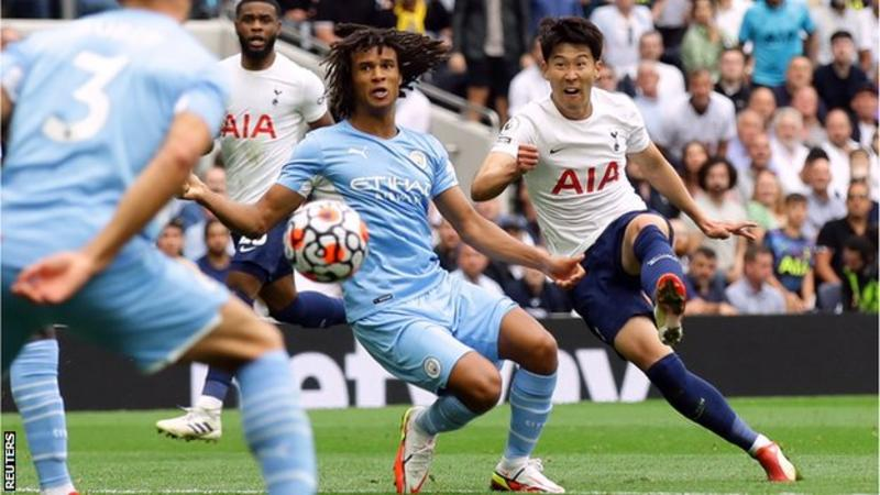 The figure of Harry Kane loomed large over Tottenham Hotspur's superb victory over Manchester City to such an extent that it firmly focused the minds of almost 60,000 fans filling Spurs' magnificent arena.