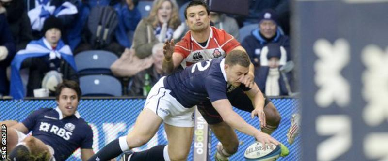 Rugby World Cup: Scots not surprised by Japan - Duncan Weir
