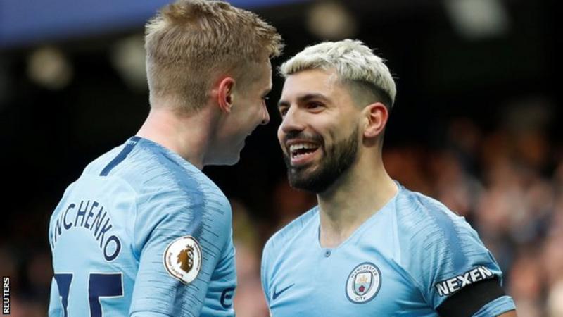 Manchester City 6-0 Chelsea: Sergio Aguero scores hat ...