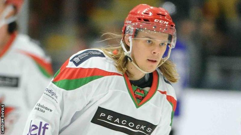 UK: Toms Rutkis - Swindon Wildcats Forward Joins Cardiff Devils Full Time