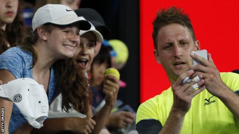 """2018年澳大利亚网球公开赛:""""坦"""