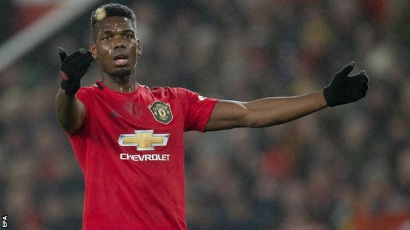 Man Utd Midfielder Paul Pogba All Set to Return, Says He's 'Hungry'