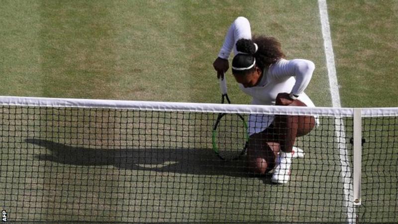 Serena Williams Upset in Wimbledon Final